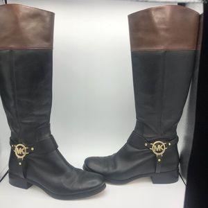 Michael kors Riding boots size 9